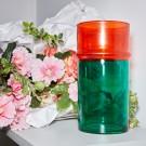 MOROCCAN vase L green