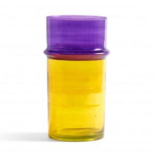 MOROCCAN vase L yellow
