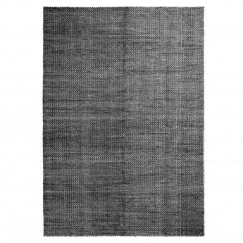 MOIRE kelim 140x200 cm black