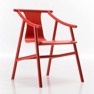 Chaise MAGISTRETTI 03 01 rouge