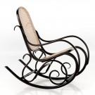 Rocking chair SCHAUKELSTUHL noir