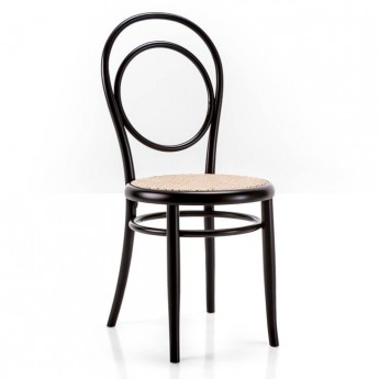N.14 chair woven cane seat/round backrest