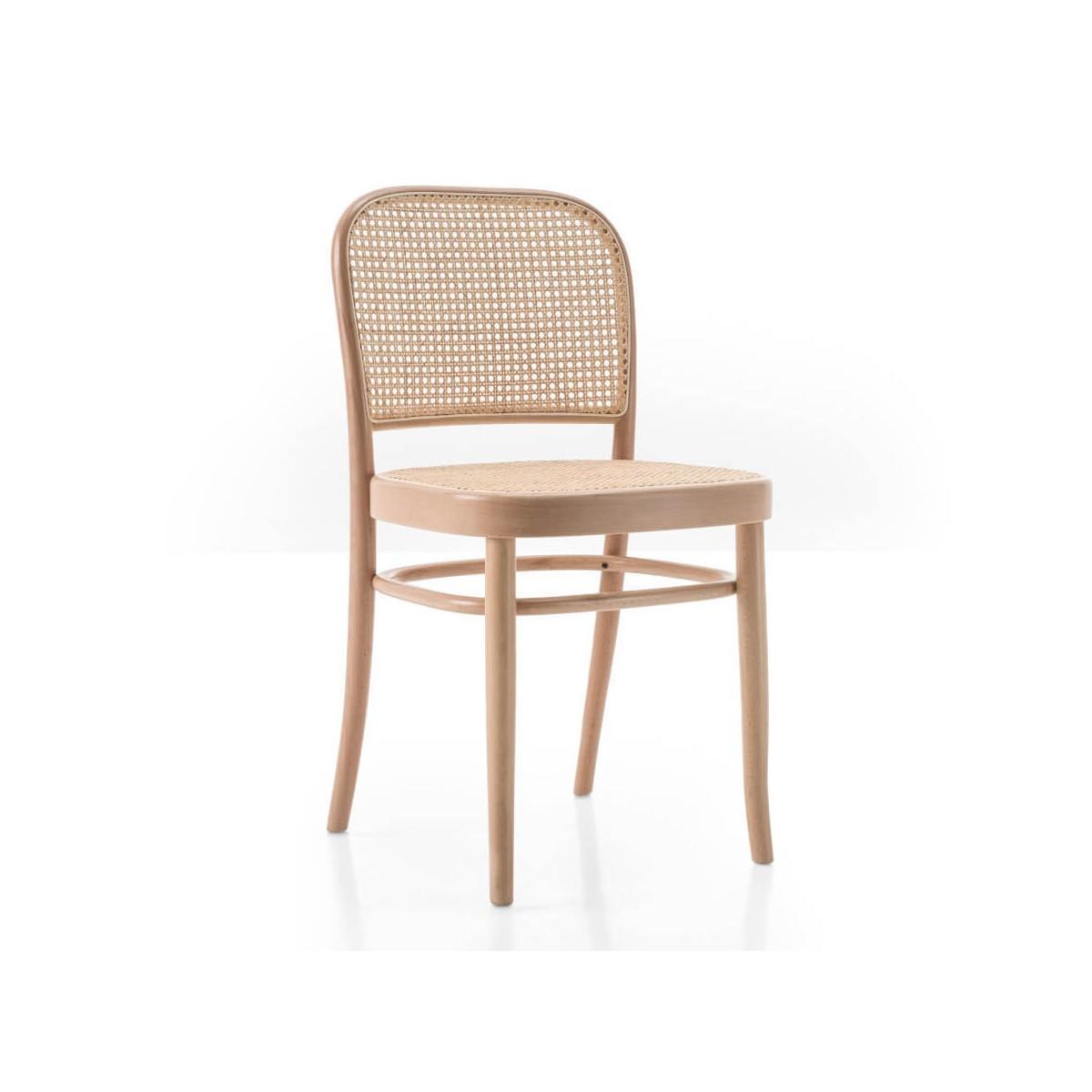 Chaise N.7 assise/dossier en paille - Wiener GTV Design