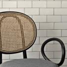 N.0 chair technical netting backrest