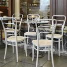 Fauteuil VIENNA 144 assise en contreplaqué