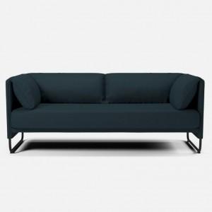 MARA sofa 2 seats Nantes/petrol