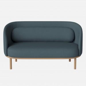 FUUGA sofa 2 seats Nantes/Stone blue