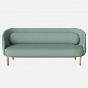 FUUGA sofa 3 seats Nantes/mint