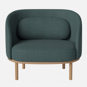 FUUGA armchair London/sea green