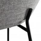 CARMEN armchair Nantes/light grey