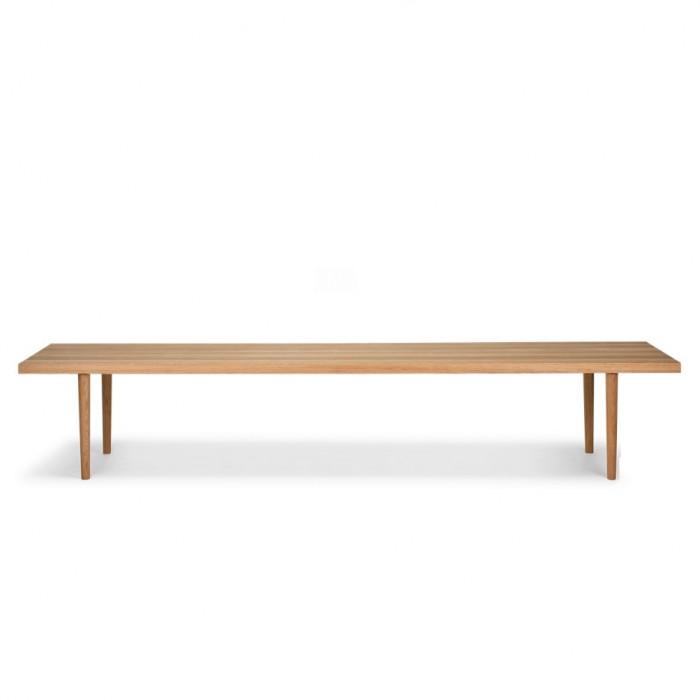 BERLIN bench S oiled oak