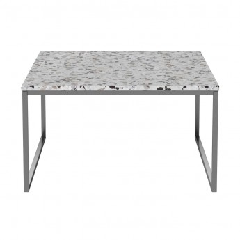 Coffee table COMO Terazzo 60 x 60 - low