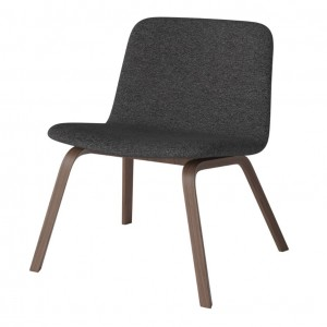 PALM armchair upholstered without armrest