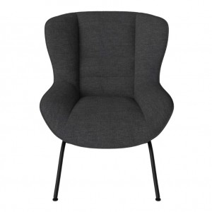 OLIVE armchair FAWN/Anthracit