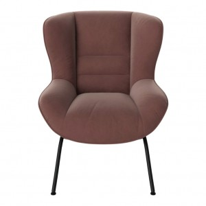 OLIVE armchair RITZ/light rosa