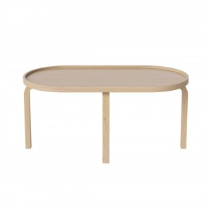 Table basse FREUD chêne blanchi