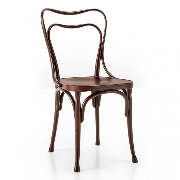 LOOS chair with plywood seat