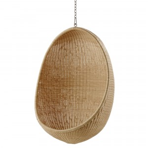HANGING EGG armchair with chain