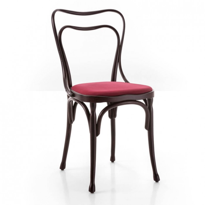 Chaise LOOS assise rembourrée