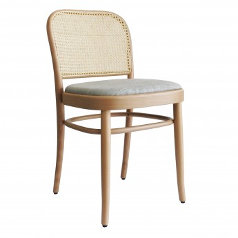 N.811 chair woven cane backrest