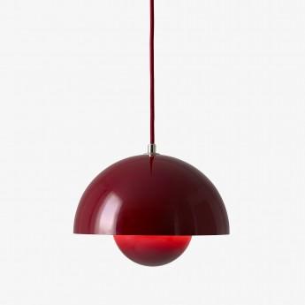 Lampe FLOWERPOT VP2 rouge