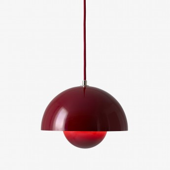 VP2 FLOWERPOT lamp deep red