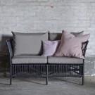 DONATELLO 2 seaters sofa with cushions