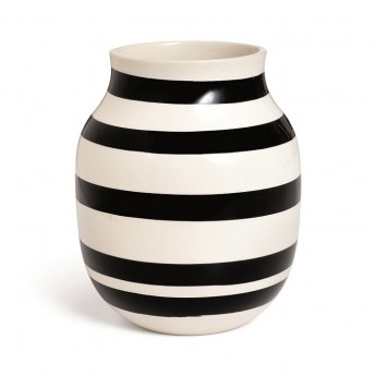 Vase OMAGGIO noir M