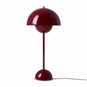 VP3 FLOWERPOT Table lamp deep red