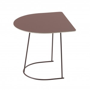 Table basse AIRY Demi-format plum