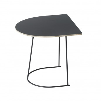 Table basse AIRY Demi-format noir