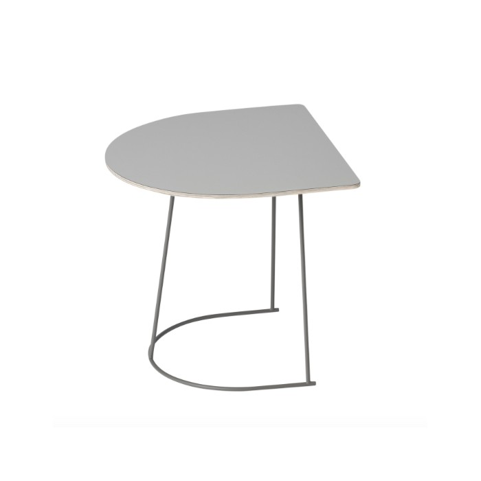Table basse AIRY Demi-format gris