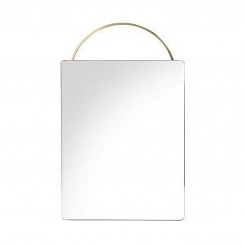 ADORN mirror brass