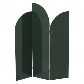 UNFOLD room divider, dark green