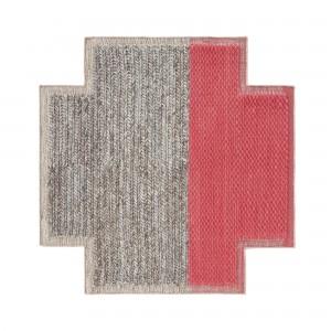 PLAIT square Mangas carpet