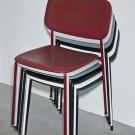 Chaise SOFT EDGE P10 blanc - base acier blanc