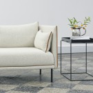 SILHOUETTE sofa 2 seaters mono - Coda 100