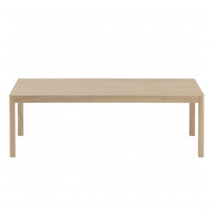 Table basse WORKSHOP bois naturel