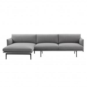 Canapé OUTLINE chaise longue gauche - Fiord 151