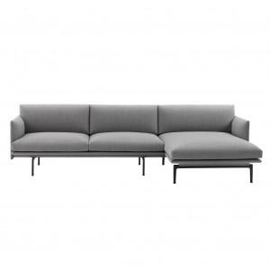 Canapé OUTLINE chaise longue droite - Fiord 151