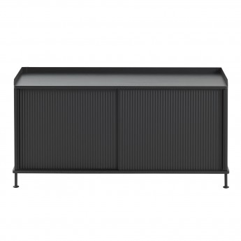 ENFOLD low Sideboard black