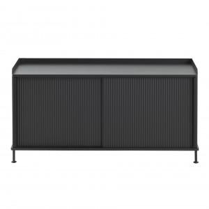 ENFOLD low Sideboard black