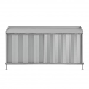 ENFOLD low Sideboard grey