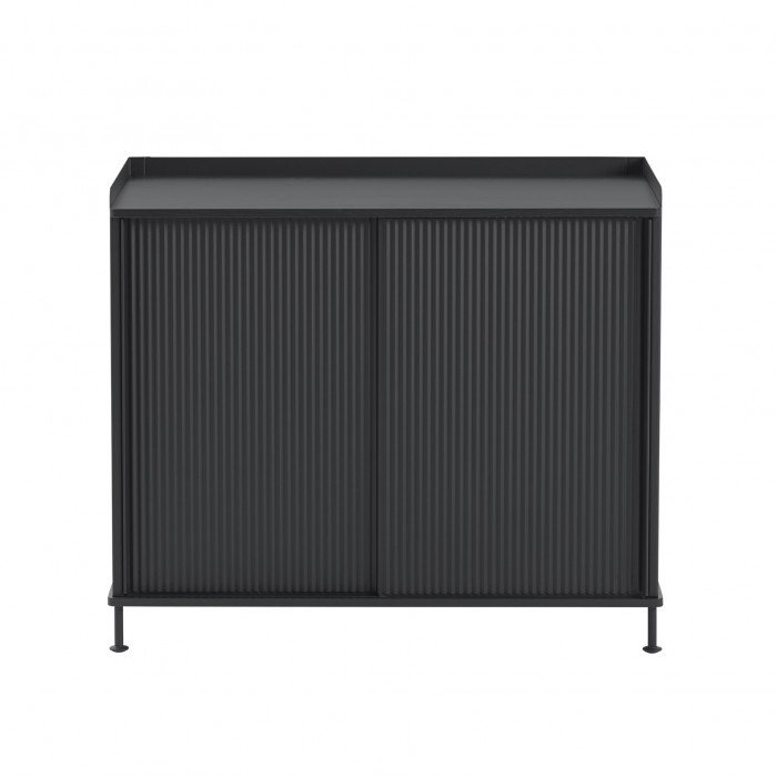 ENFOLD tall Sideboard black