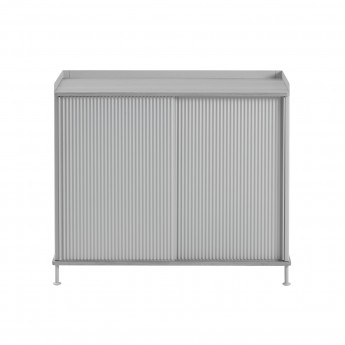 ENFOLD tall Sideboard grey