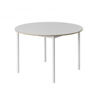 Table BASE chêne/blanc