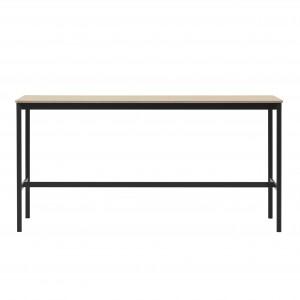 BASE HIGH table - black/oak S