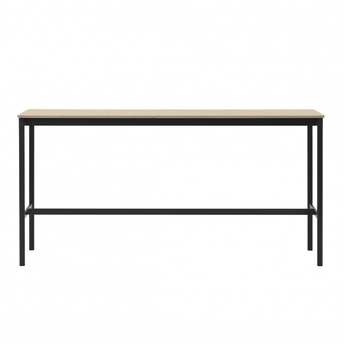 BASE HIGH table - black/oak