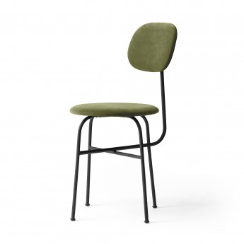 ANTEROOM dining chair plus in green velvet