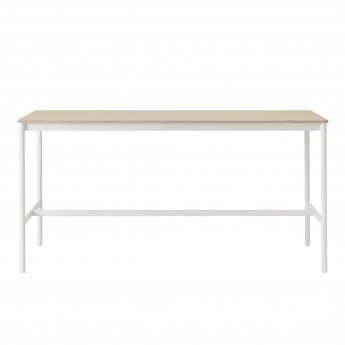 BASE HIGH table - black/oak